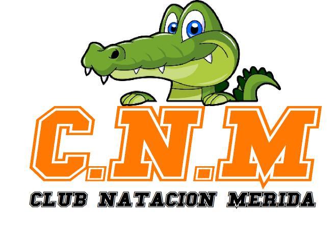 Logo del Club de Natación de Mérida